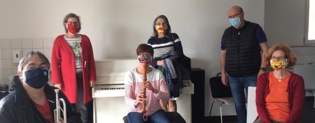 Maskenball in der Musikschule