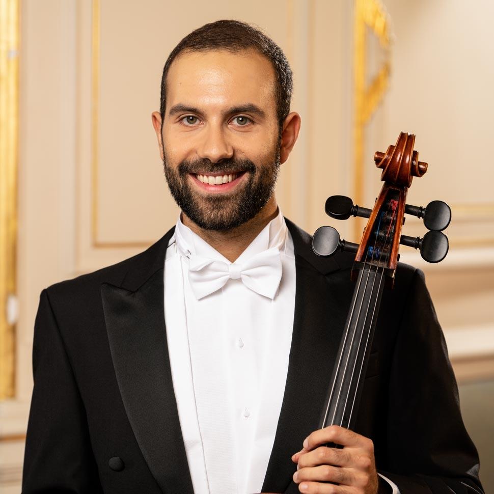 Neue Lehrkraft für Violoncello Andrea Mereu